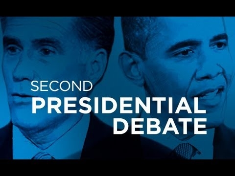 Embedded thumbnail for Presidential Debate #2 Post Show | Ora 2012 With Larry King