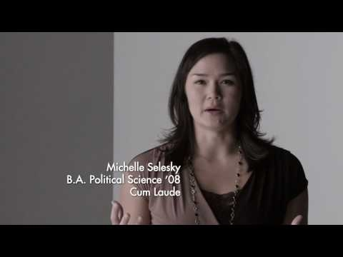 Embedded thumbnail for Michelle Selesky's Big UCLA Moment