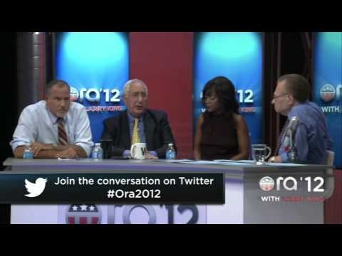 "Embedded thumbnail for ""Ora TV 2012 with Larry King"" Final Night of the RNC Pt. 1"