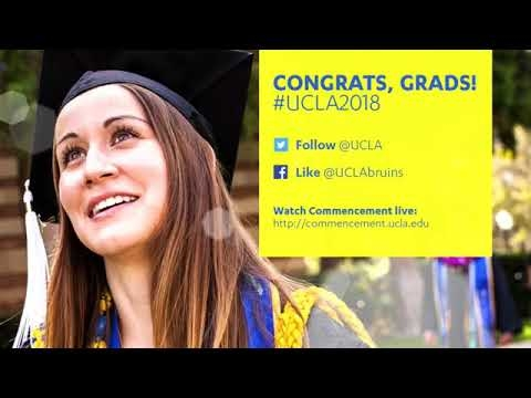 Embedded thumbnail for UCLA Political Science Department Commencement 2018